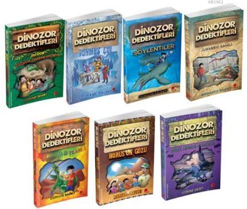 Dinozor Dedektifleri Seti 7 Kitap