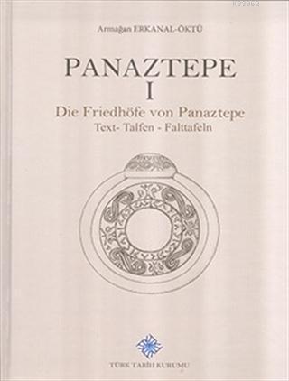 Panaztepe 1 - (2 Kitap Takım) Die Friedhöfe von Panaztepe