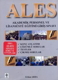Ales -  Akademik Personel ve Lisansüstü Eğitimi Giriş Sınavı