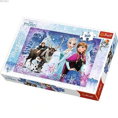Trefl Puzzle 15344 Frozen, Wintery Adventures 160