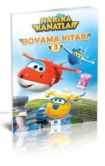 Harika Kanatlar Boyama Kitabi 3 Kolektif 8681234091846 Kitap