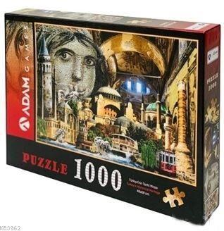 Adam Games Türkiyenin Tarihi Mirası 1000 Parça Puzzle 48x68
