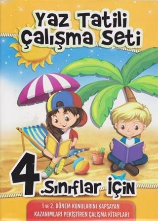4. Sınıflar İçin Yaz Tatili Çalışma Seti