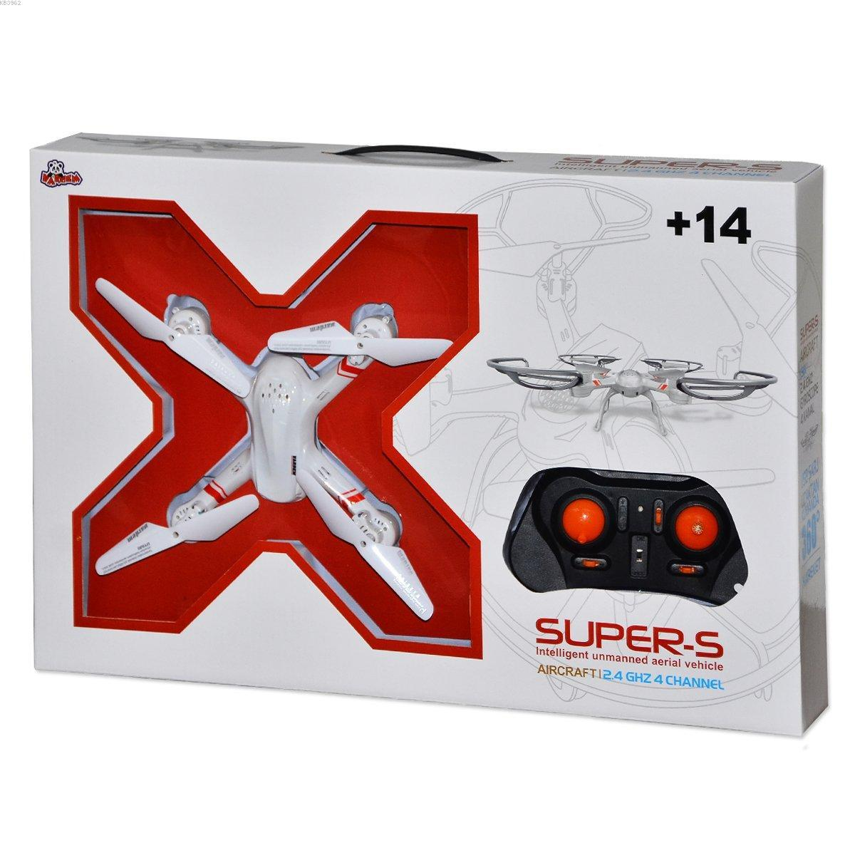Vardem 33041 Super-s 2.4 Ghz Drone