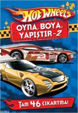 Hot Wheels Oyna Boya Yapistir 2 Kolektif 9786051117546