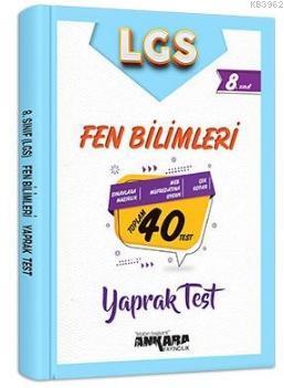 8.Sınıf Fen Bilimleri 40 Yaprak Test
