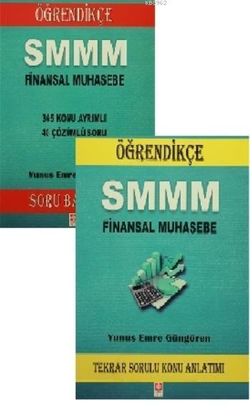 SMMM Finansal Muhasebe Soru Bankası ve Tekrar Sorulu Konu Anlatımı (2 Kitap Birarada)