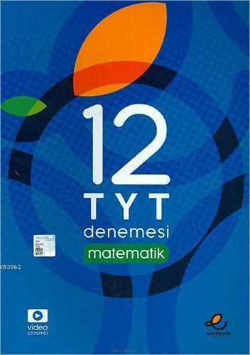 Endemik Yayınları TYT Matematik 12 Deneme Endemik