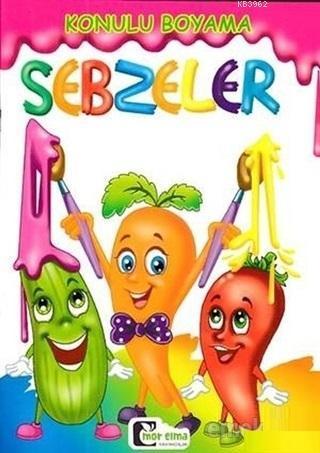 Sebzeler - Konulu Boyama