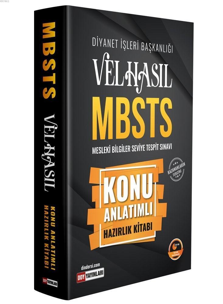 2019 Velhasıl MBSTS Konu Anlatımlı Hazırlık Kitabı
