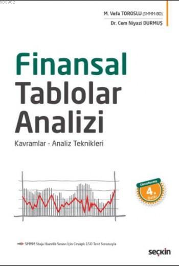 Finansal Tablolar Analizi; Kavramlar Analiz Teknikleri