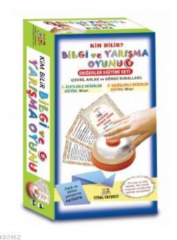 Bilgi ve Yarışma Oyunu - 9 - Değerler Eğitimi Seti; 1-Ayetlerle Değerler Eğitimi , 2-Hadislerle Değerler Eğitimi
