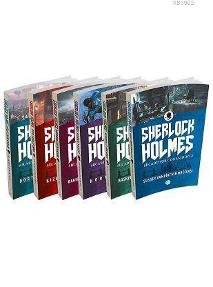 Sherlock Holmes Seti 6 Kitap (Kutusuz)