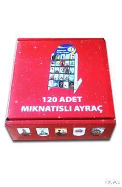 Mıknatıslı Ayraç 120'lik Kutu (Atatürk ve Bayrak)