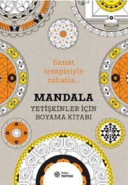 Mandala; Yetişkinler İçin Boyama Kitabı