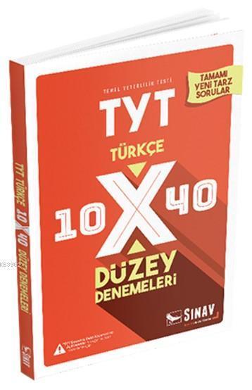 Sınav Dergisi Yayınları TYT Türkçe 10x40 Düzey Denemeleri Sınav Dergisi