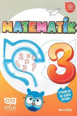Nitelik Yayınları 3. Sınıf Matematik Etkinlik ve Soru Kitabı Nitelik