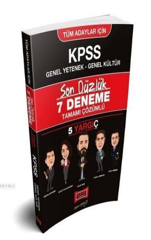 Yargı KPSS GY-GK Tüm Adaylar İçin Son Düzlük Tamamı Çözümlü 7 Deneme