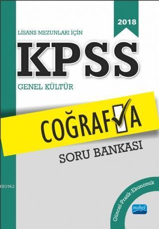Lisans Mezunları İçin KPSS Coğrafya Soru Bankası (2018)