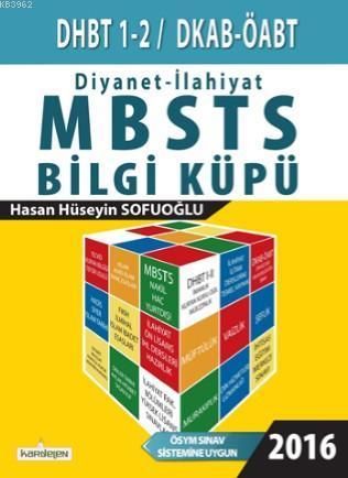 Diyanet - İlahiyat Bilgi Küpü; DHBT 1-2 / MBSTS / DKAB-ÖABT