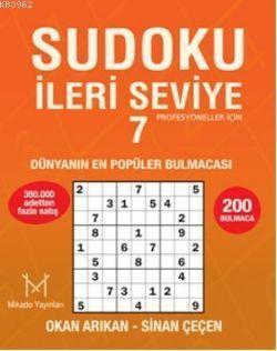 Sudoku İleri Seviye 7; Profesyoneller İçin