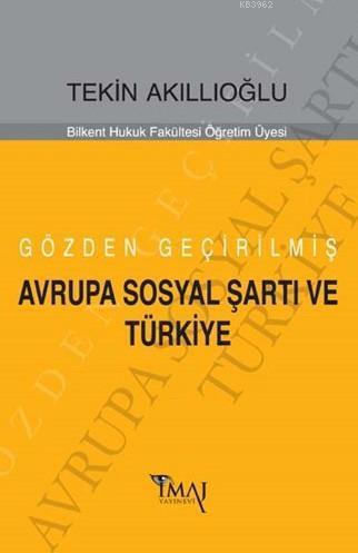 Avrupa Sosyal Şartı Ve Türkiye