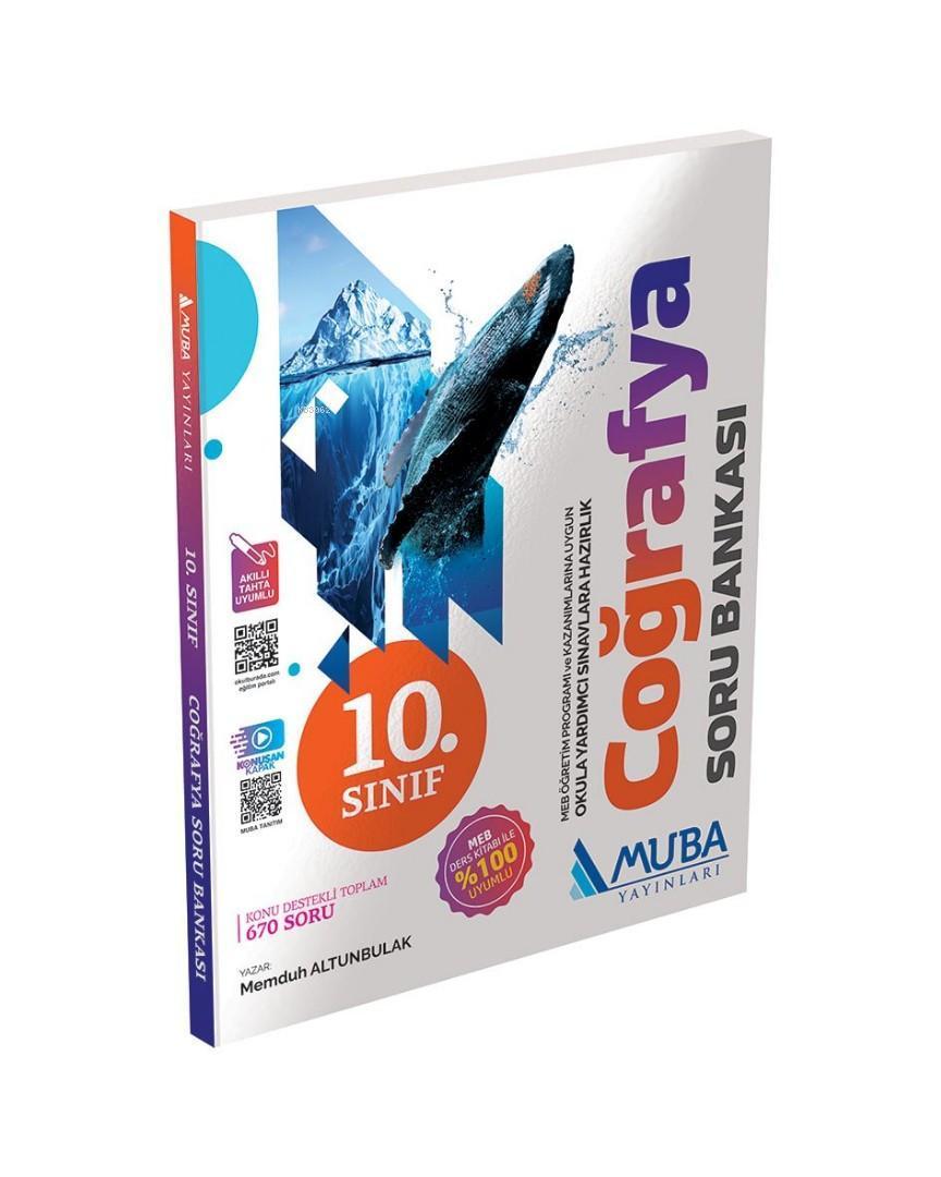 Muba Yayınları 10. Sınıf Coğrafya Soru Bankası Muba