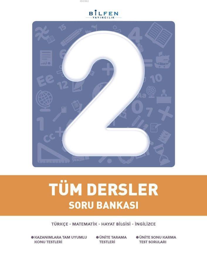 Bilfen Yayıncılık 2. Sınıf Tüm Dersler Soru Bankası