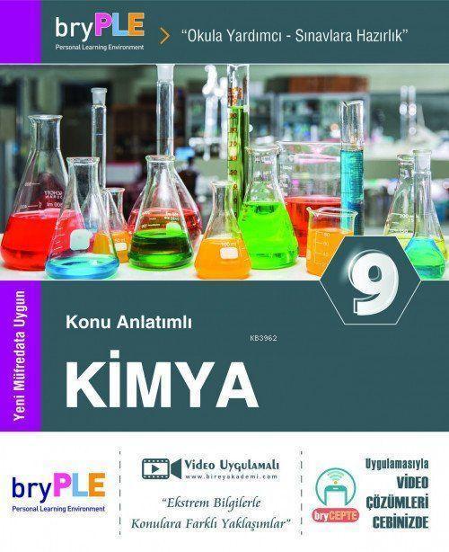 2019 9. Sınıf Kimya Konu Anlatımlı; Birey PLE