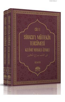 Siracu'l Müttekin Tercümesi 2 Cilt Takım