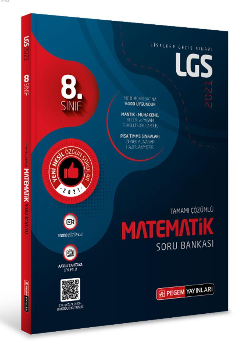LGS Matematik Tamamı Çözümlü Soru Bankası