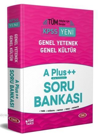 2021 KPSS Genel Yetenek Genel Kültür A Plus Soru Bankası