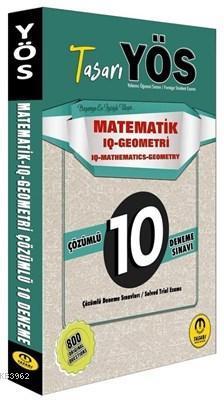 YÖS Matematik-IQ Geometri Çözümlü 10 Deneme Sınavı IQ Mathematics-Geometry