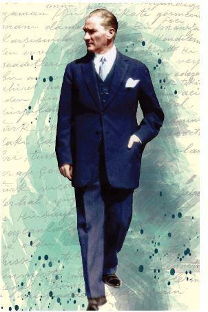 Atatürk 6- Yumuşak Kapak Defter