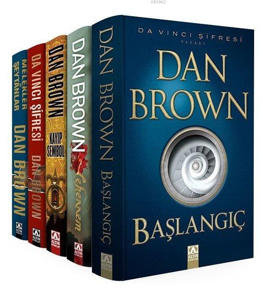 Dan Brown Seti - Robert Langdon Serisi (5 Kitap Takım)