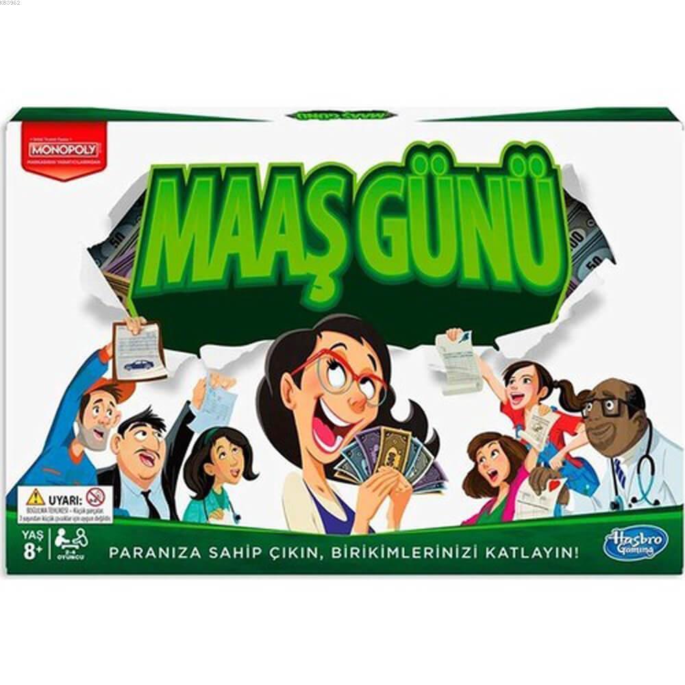 Hasbro Oyun Monopoly Maaş Günü E0751