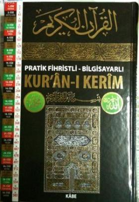 Pratik Fihristli Bilgisayarlı Kur'an-ı Kerim (Orta Boy-Kod:Ka001)