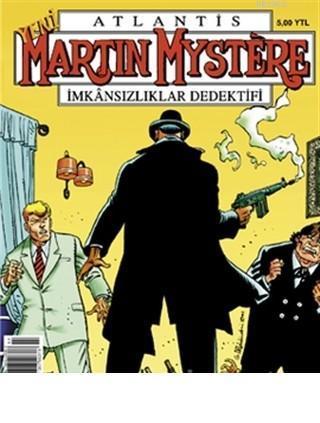 Atlantis Martin Mystere Yeni Seri Sayı: 66 Rick's Club Da Katliam İmkansızlıklar Dedektifi