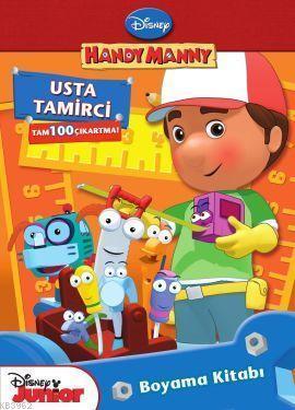 Handy Manny - Usta Tamirci; Boyama Kitabı
