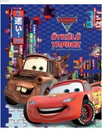 Arabalar Öykülü Yapboz Kitabım (50 Parça, 3+ Yaş)
