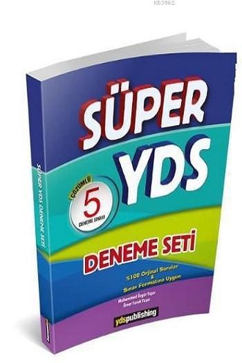 Yds Publishing Yayınları YDS Süper Çözümlü 5 Deneme Seti Yds Publishing