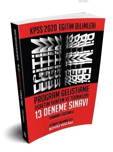 2020 Eğitim Bilimleri Program Geliştirme Öğretim Yöntem ve Teknikleri Tamamı Çözümlü 13 Deneme