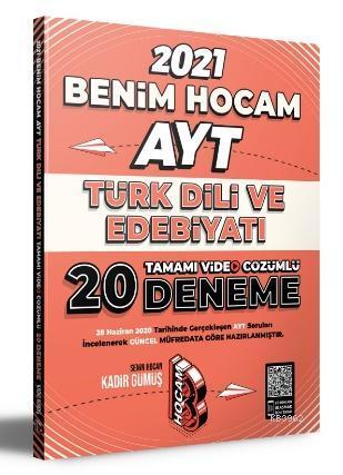 2021 AYT Türk Dili ve Edebiyatı Tamamı Video Çözümlü 20 Deneme Sınavı