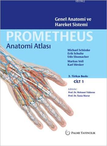 Prometheus Anatomi Atlası Cilt 1