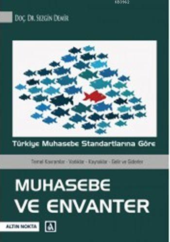 Muhasebe ve Envanter; Türkiye Muhasebe Standartlarına Göre