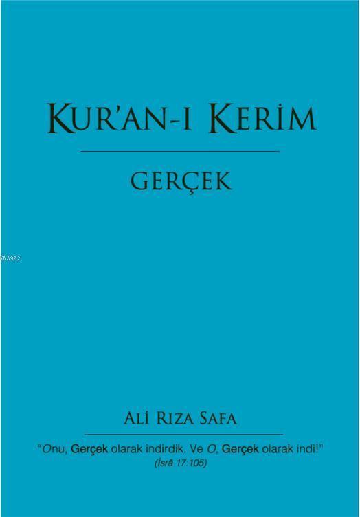 Kur'an-ı Kerim / Gerçek (Ciltli); Gerçek