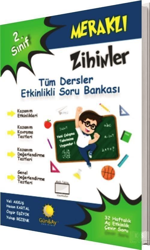 Günay Yayınları 2. Sınıf Meraklı Zihinler Tüm Dersler Etkinlikli Soru Bankası Günay