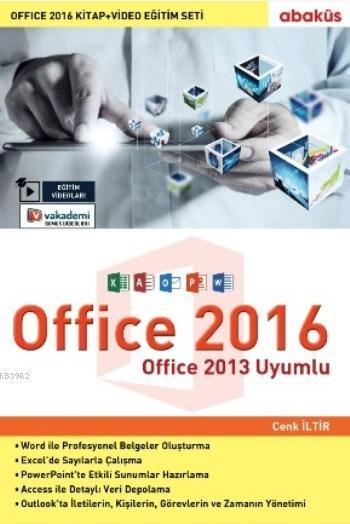 Office 2016 (Kitap Video Eğitim Seti); Office 2013 Uyumlu