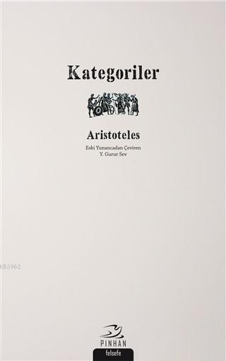 Kategoriler; Aristoteles