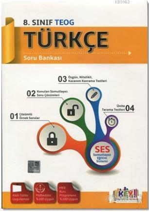 8. Sınıf Türkçe Soru Bankası; Somutlayıcı Eğitim Sistemi